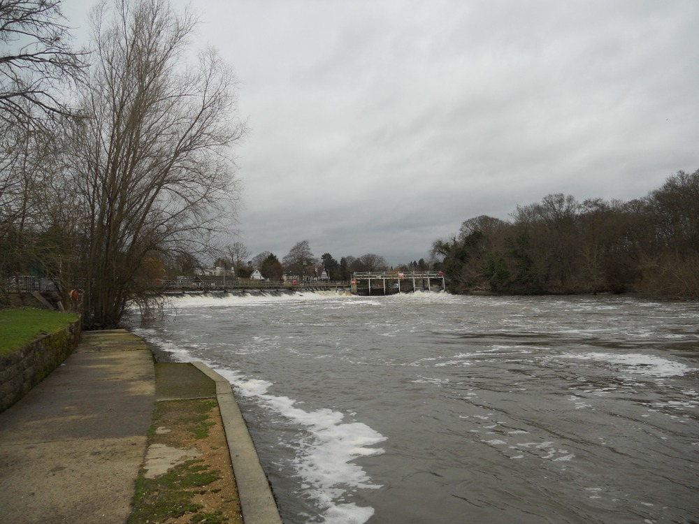 Boulters Weir view