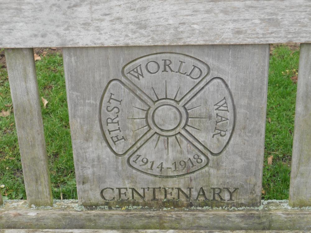 World War One Centenary plaque