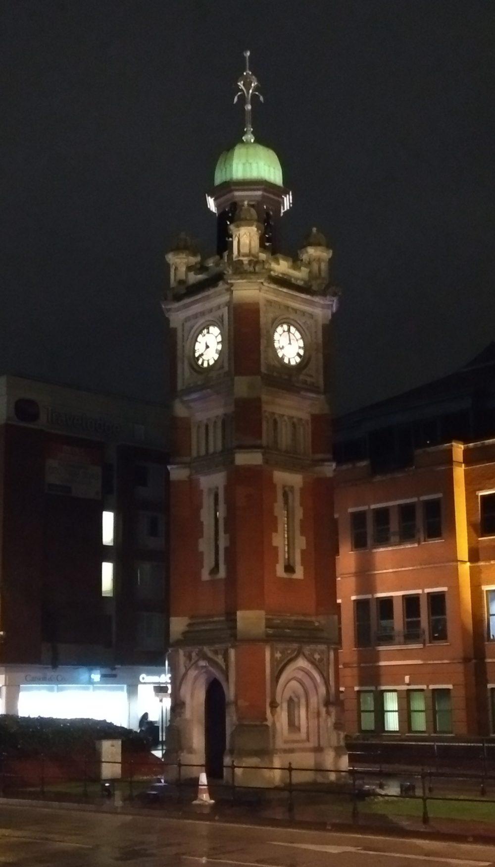 Maidenhead Clock Tower at night