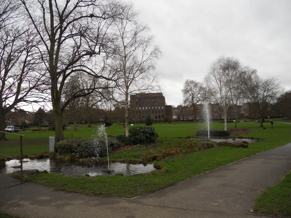 Kidwells Park fountains