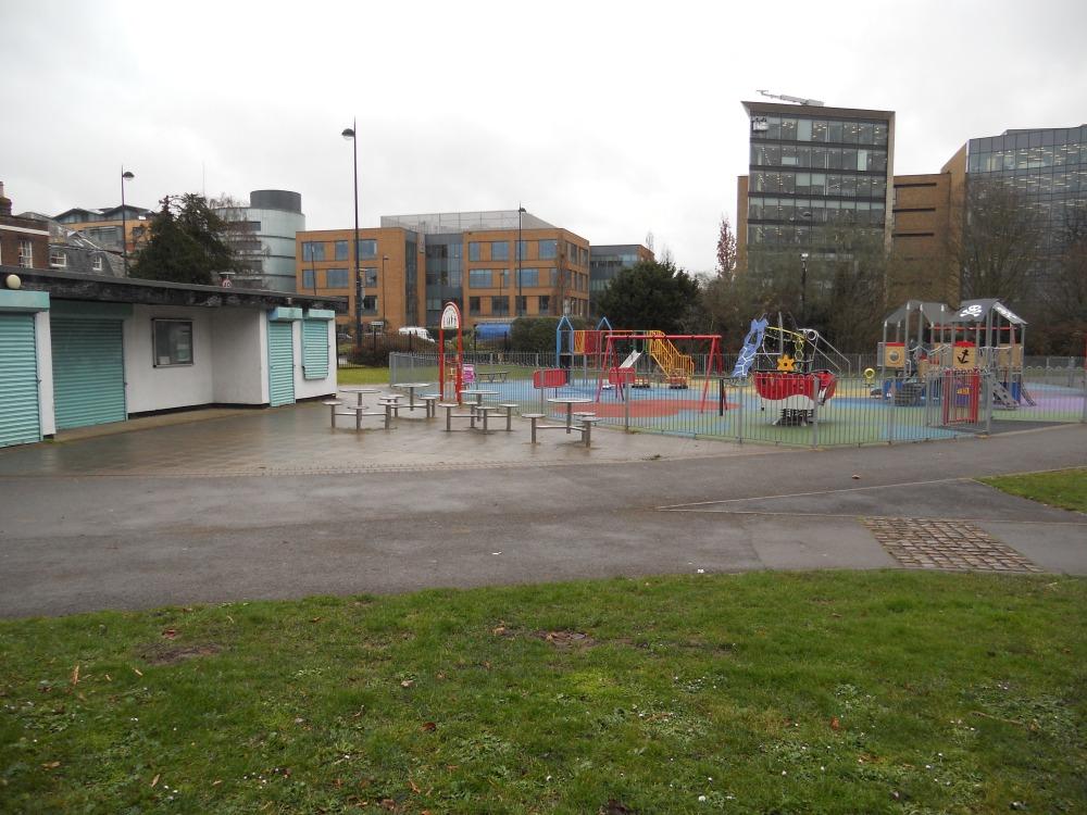 Kidwells Park play area