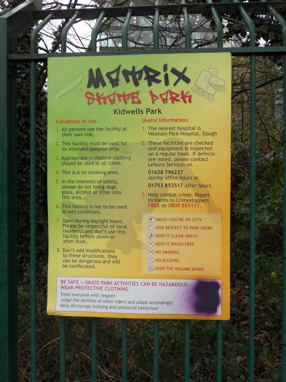 Kidwells Park Matrix Skate Park