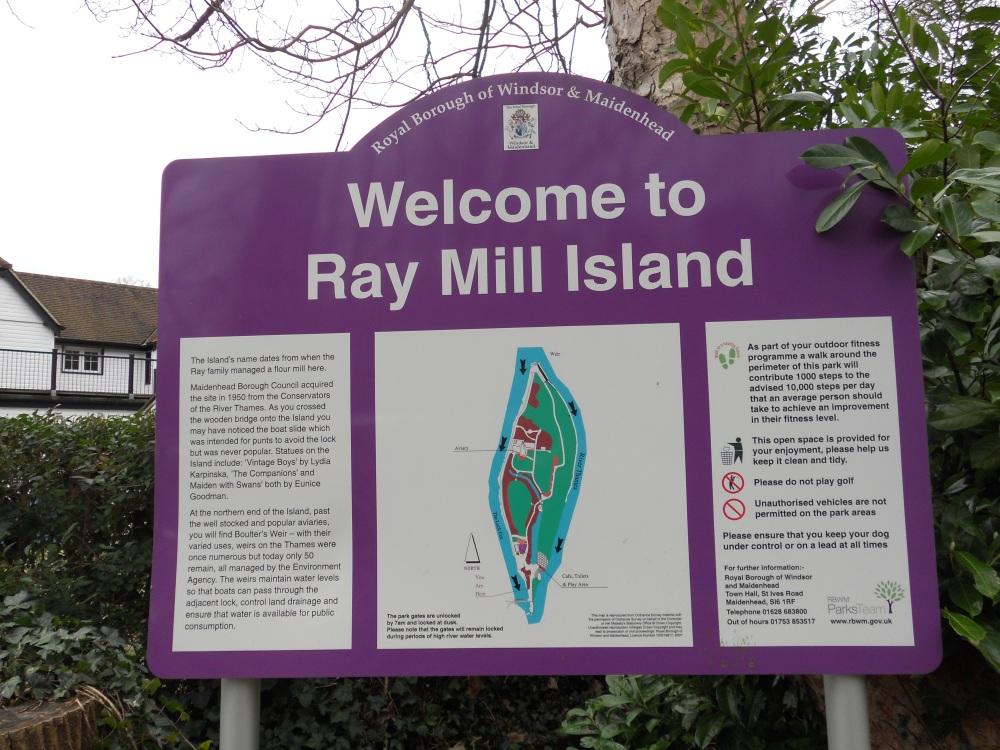 Ray Mill Island information