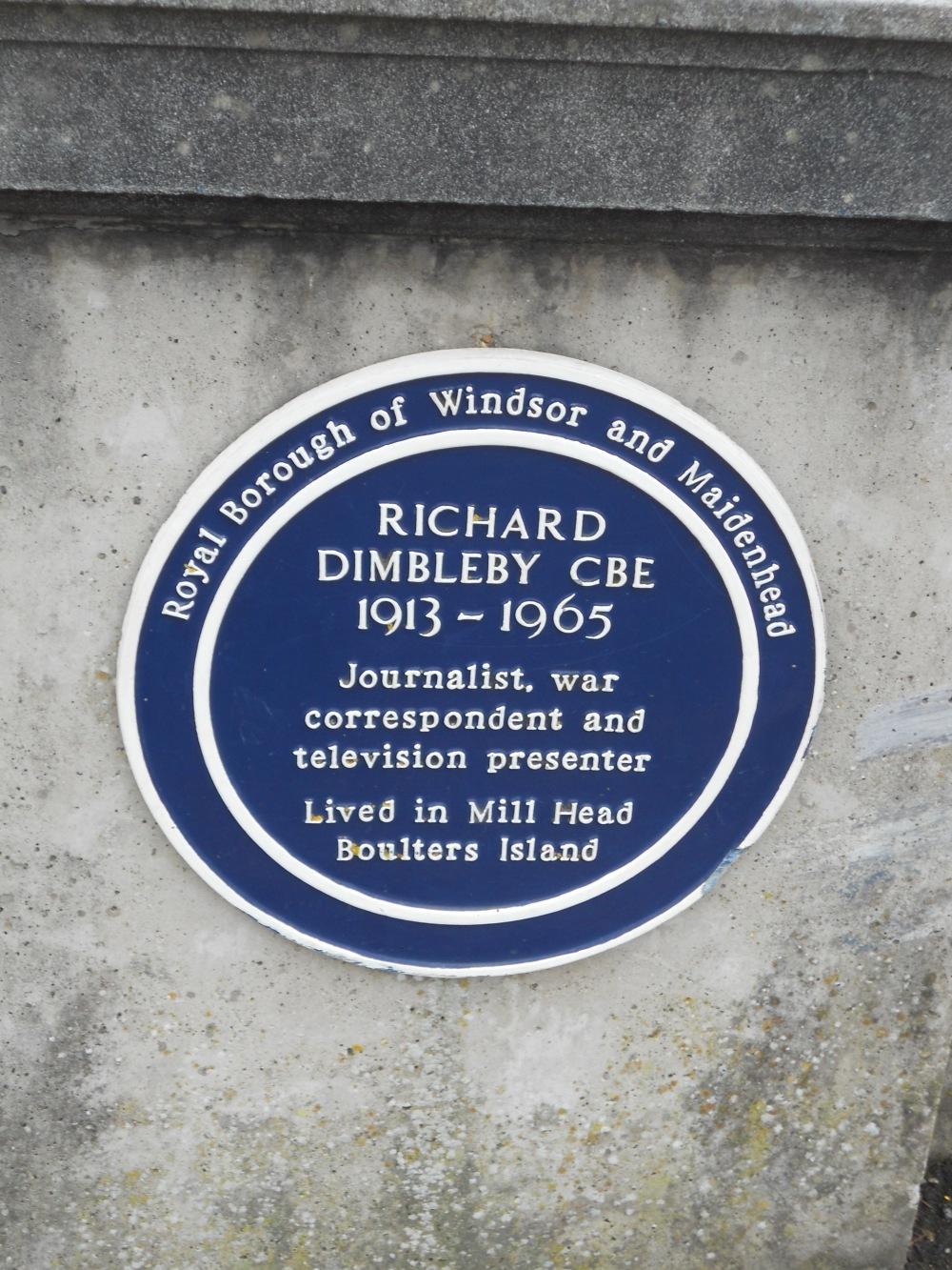 Richard Dimbleby plaque