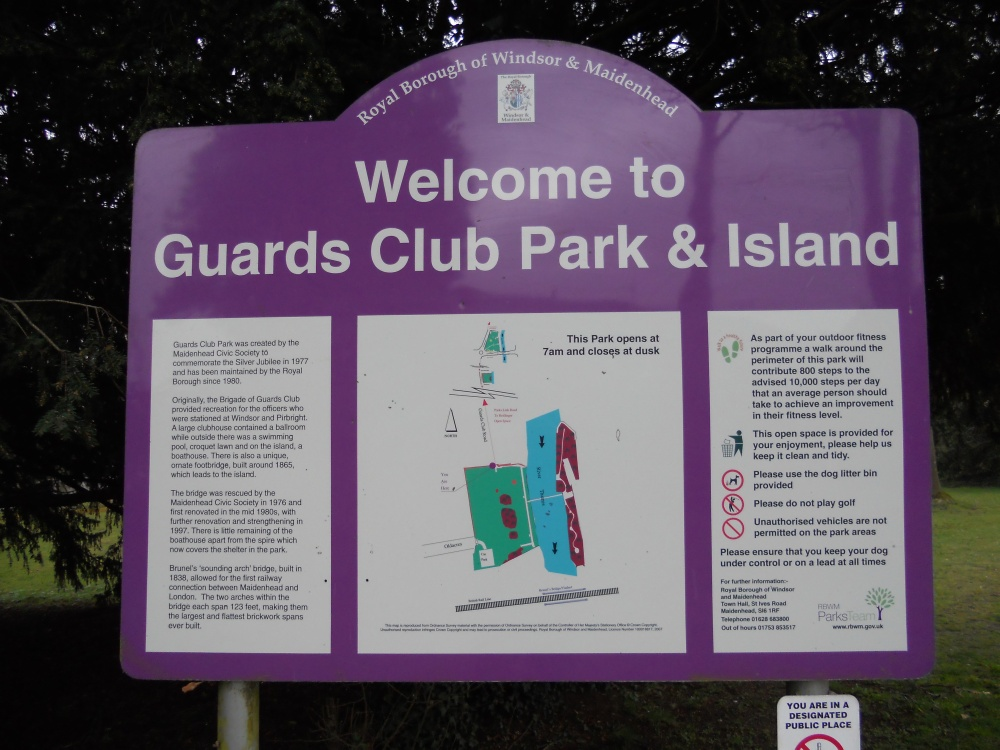 Guards Club Park and Island