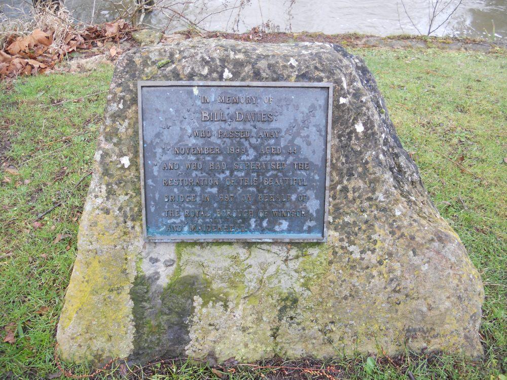 Guards Club Park memorial stone