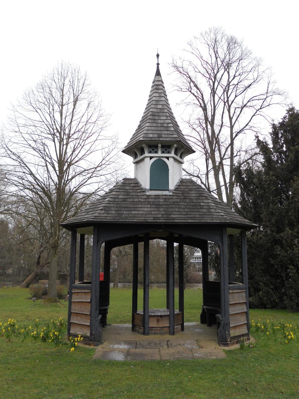 Guards Club Park statue