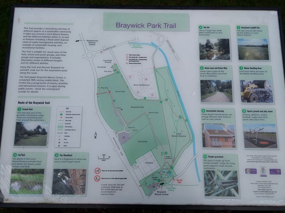 Braywick Park Trail