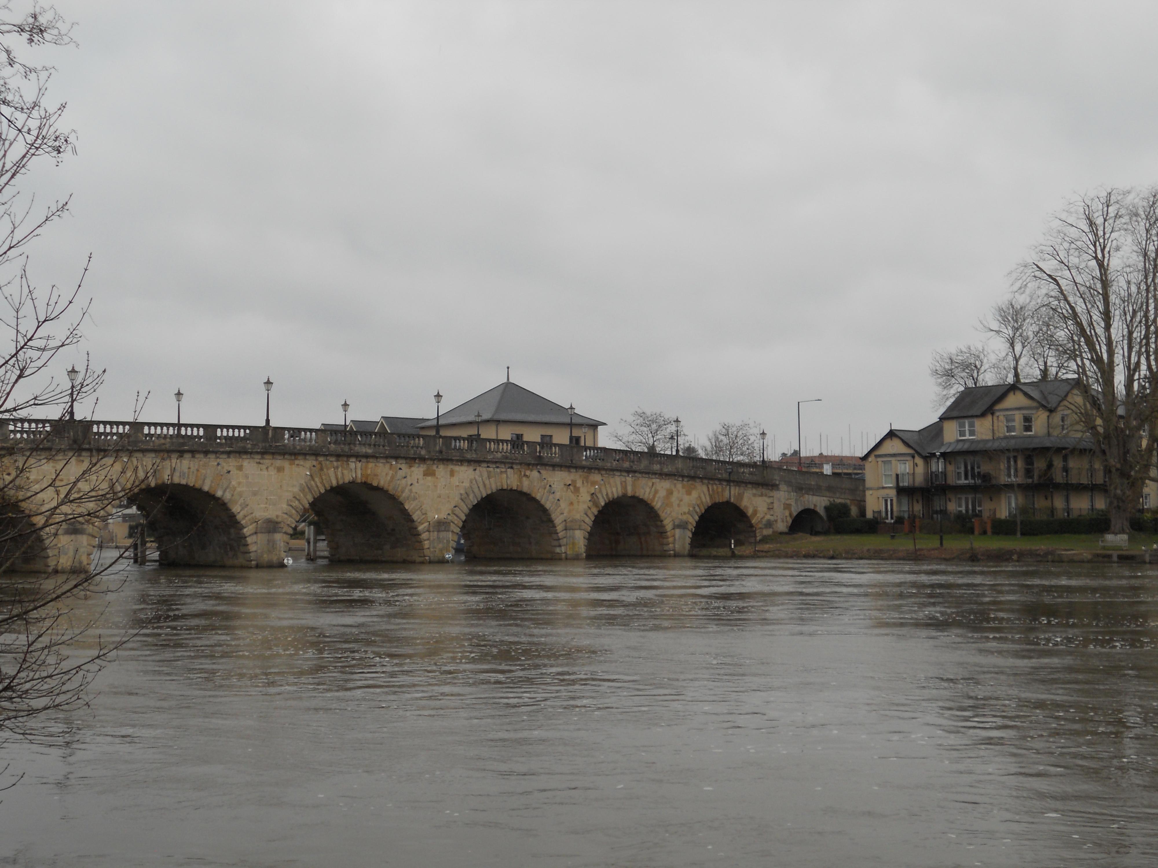 Maidenhead bridge from Reitlinger Open Space