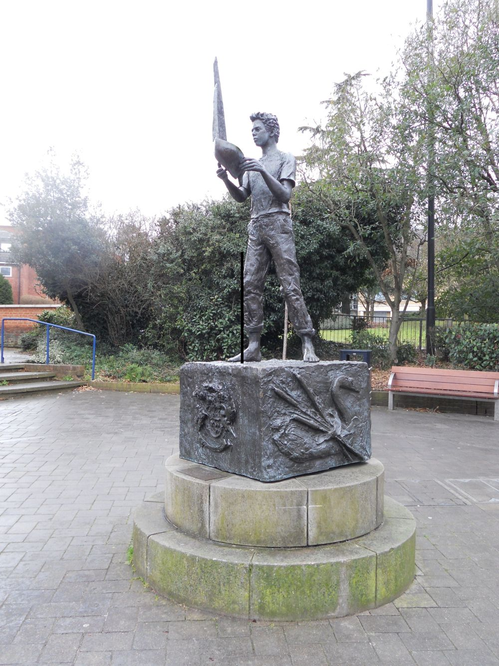 The Boy and the Boat statue