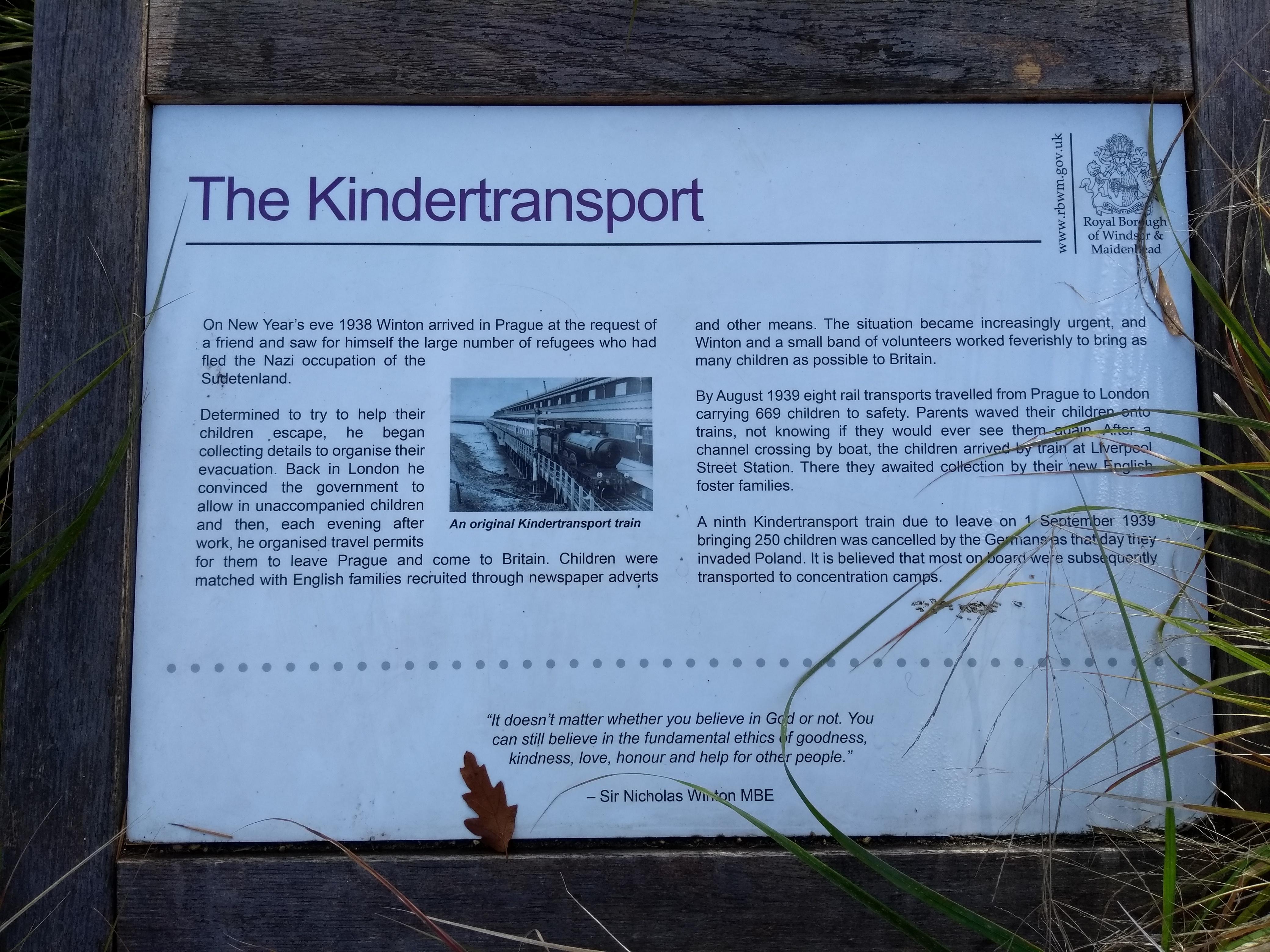 The Kindertransport