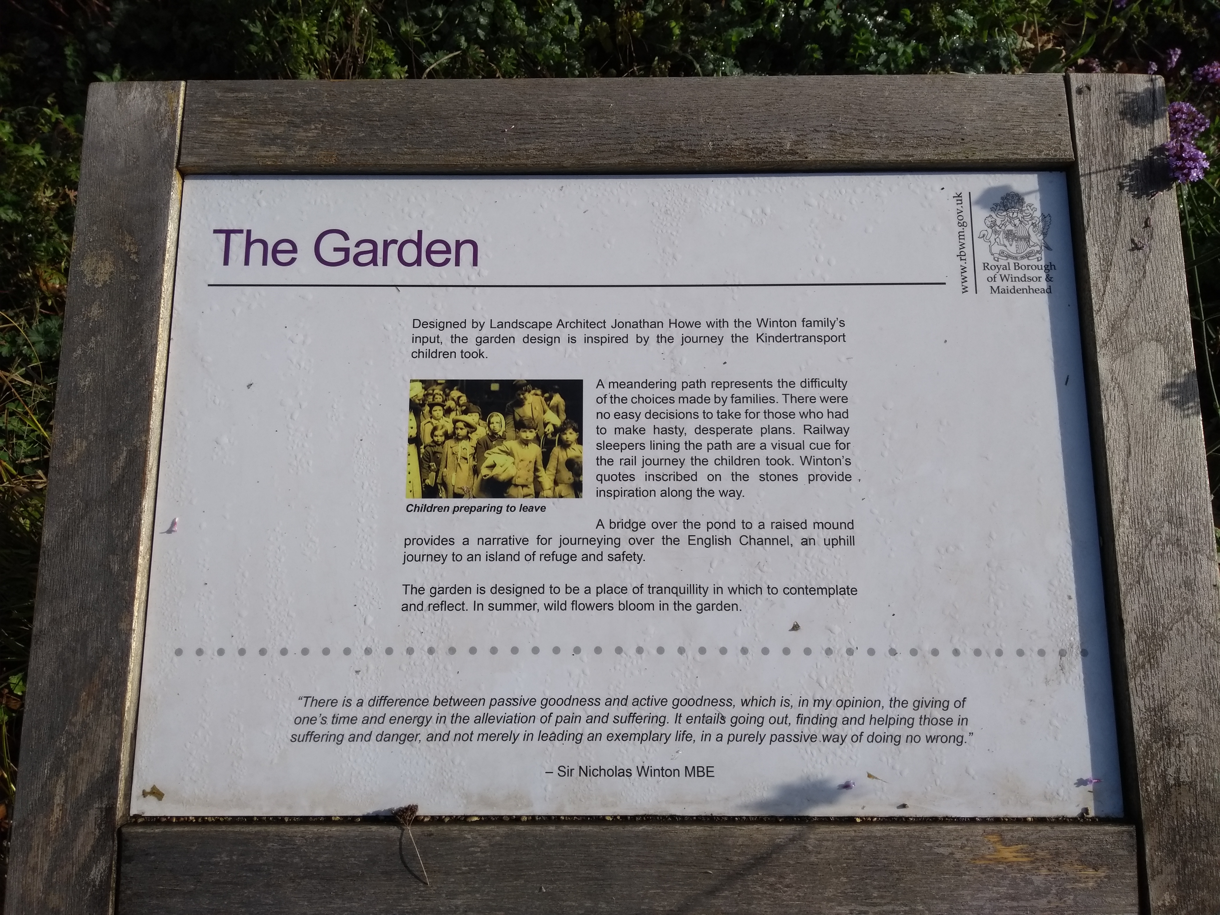 About the Garden