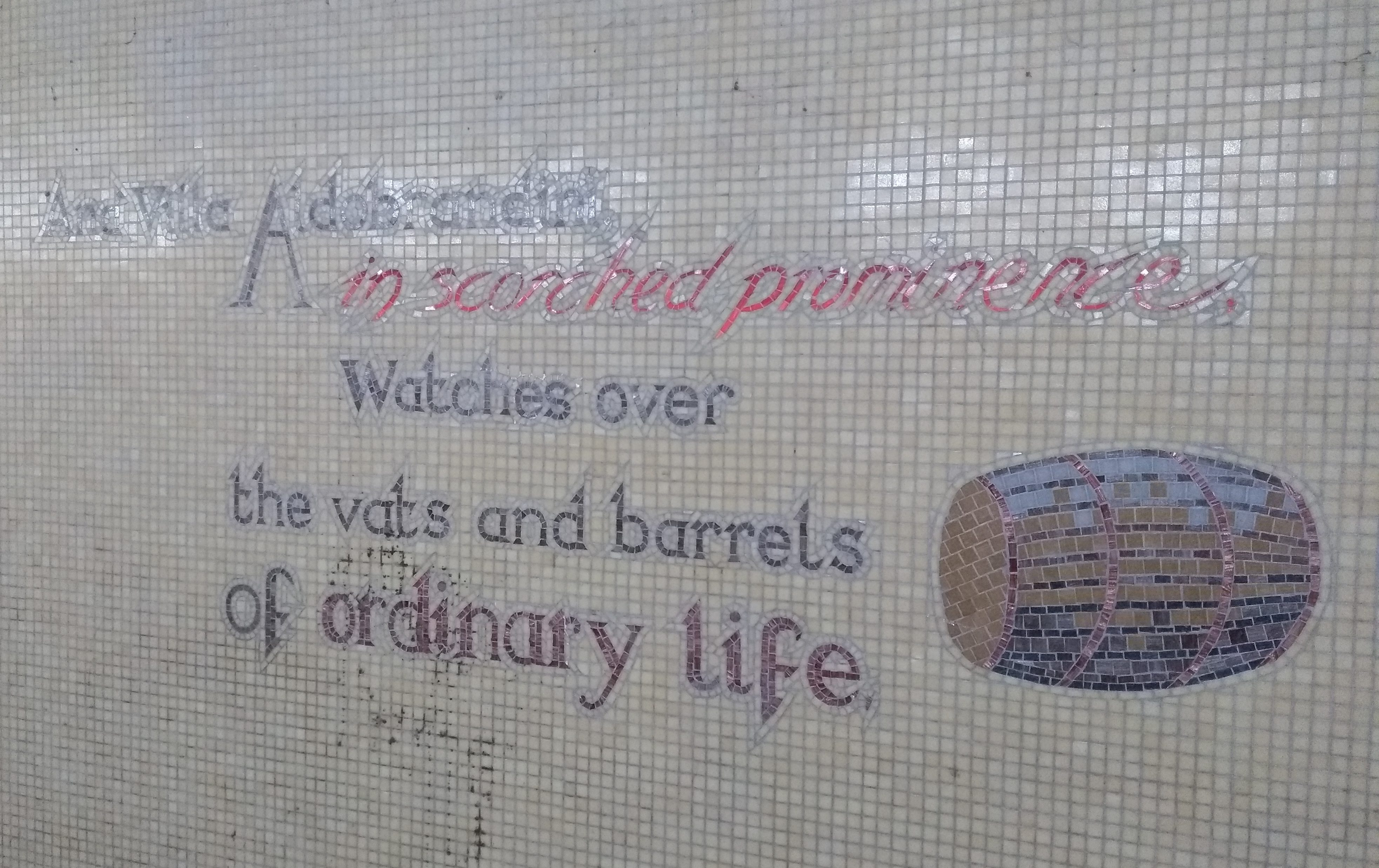 underpass street art ordinary life