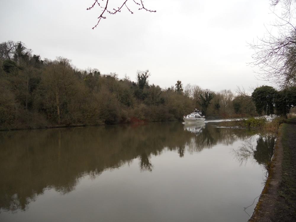 Boat on River Thames