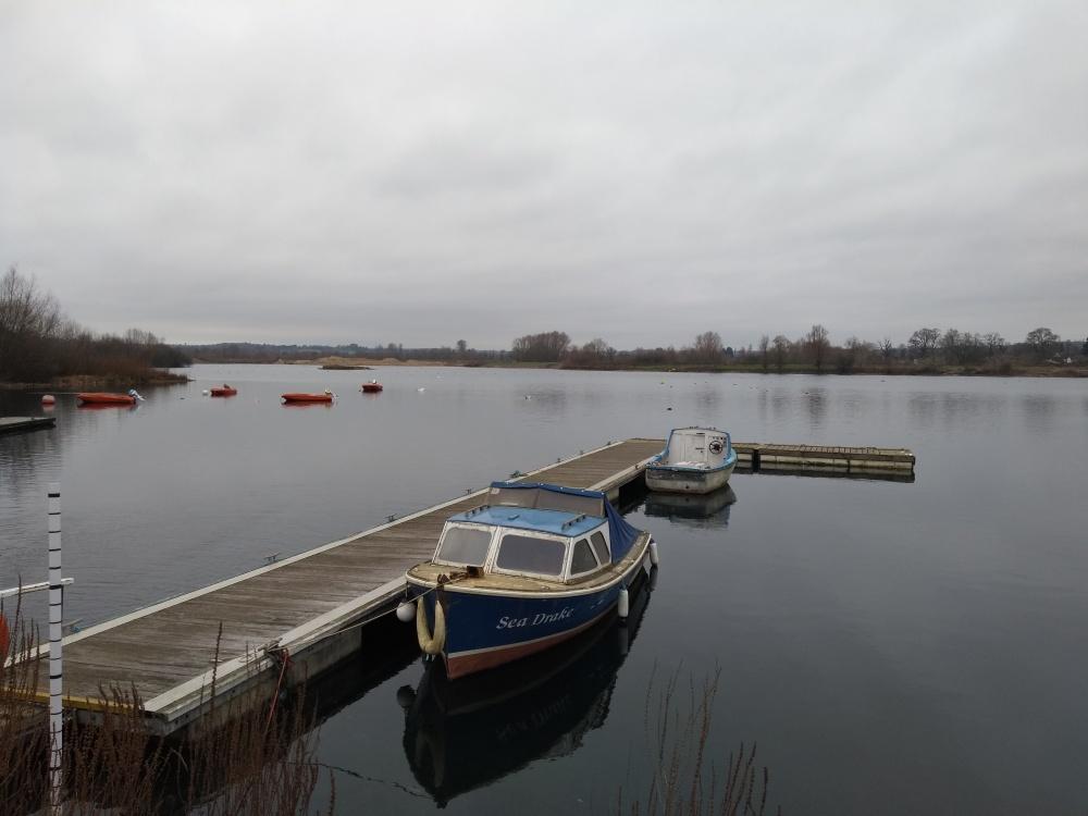 Sailing Lake on a gloomy day