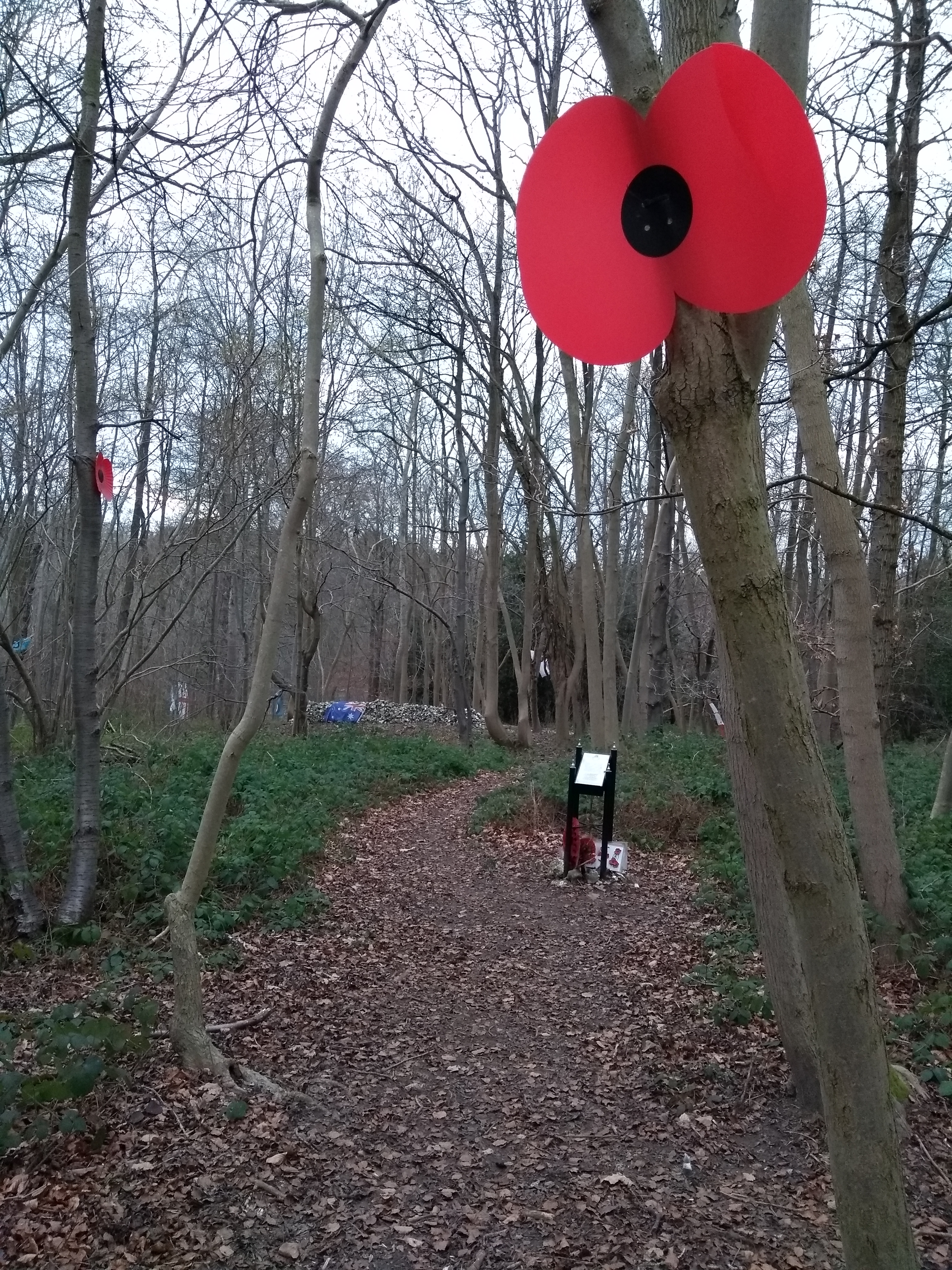 Entrance to RAF memorial