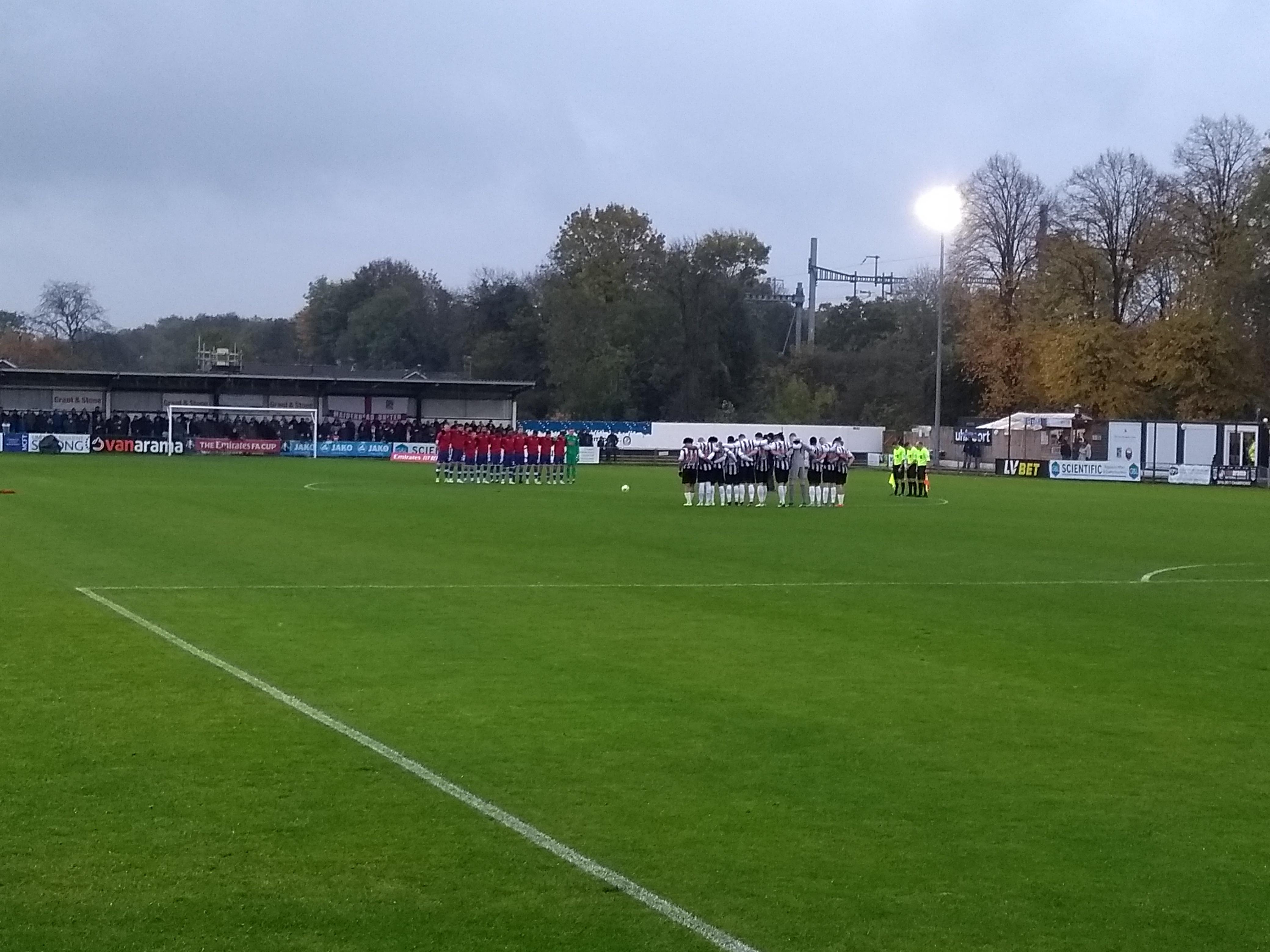 Maidenhead United FC ground
